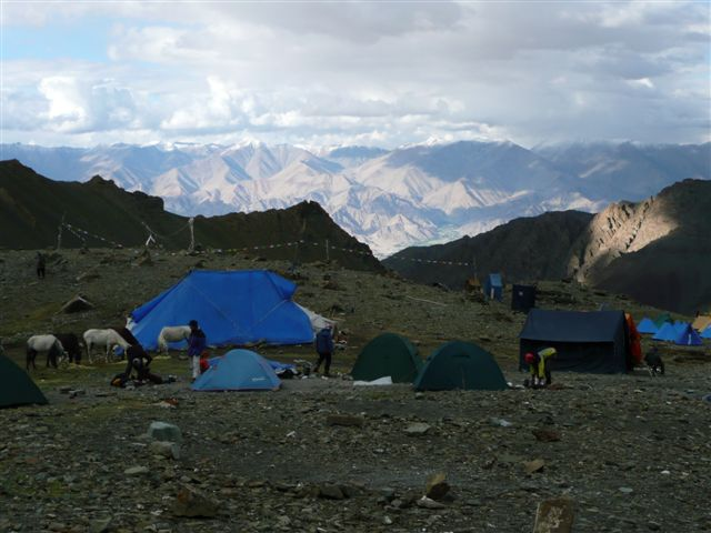 base camp Stok kangri (Indie 2011)